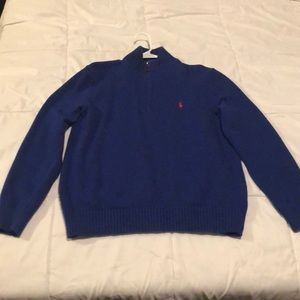 Polo by Ralph Lauren quarter zip sweatshirt